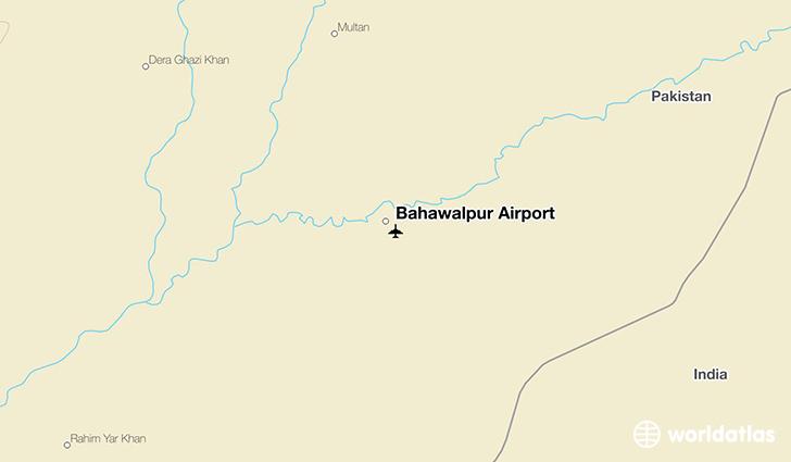 Bahawalpur Airport BHV WorldAtlas