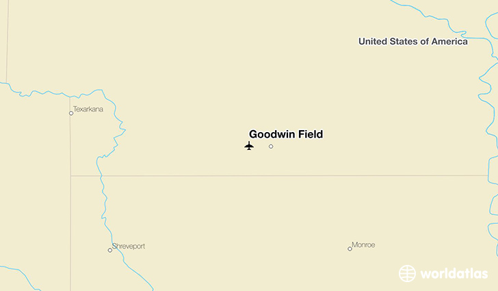 Goodwin Field location on a map