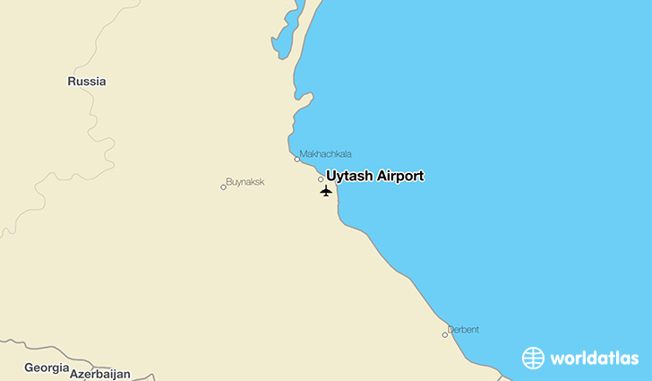 Uytash Airport location on a map