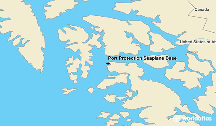 Port Protection Seaplane Base (PPV) Airport - WorldAtlas