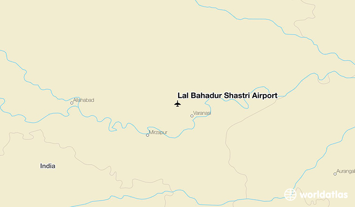 Lal Bahadur Shastri Airport location on a map