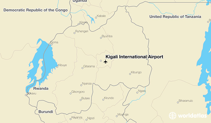 Kigali International Airport KGL WorldAtlas