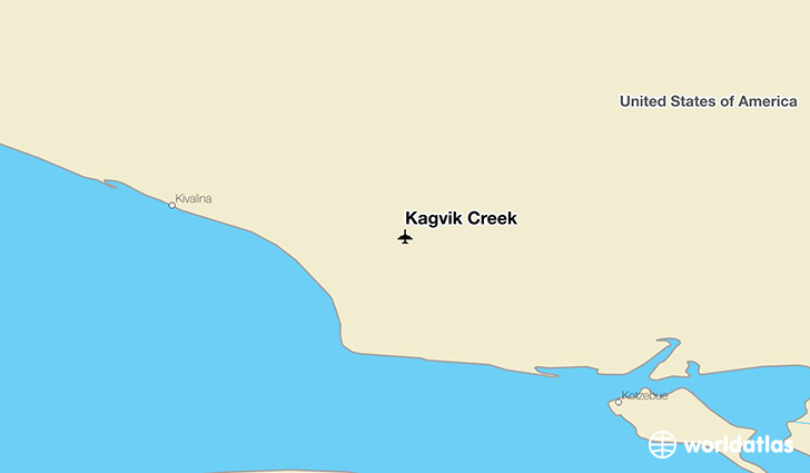 Kagvik Creek location on a map