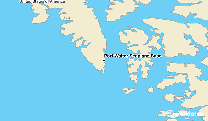 Port Walter Seaplane Base location on a map