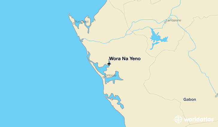 Wora Na Yeno location on a map
