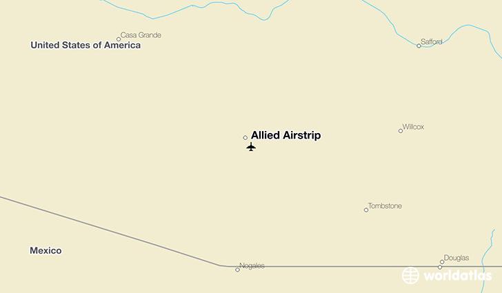 Allied Airstrip DMA Airport  WorldAtlas