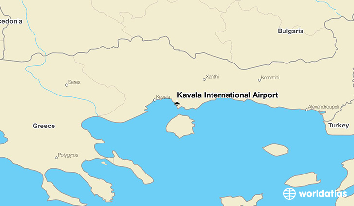 Kavala International Airport KVA WorldAtlas