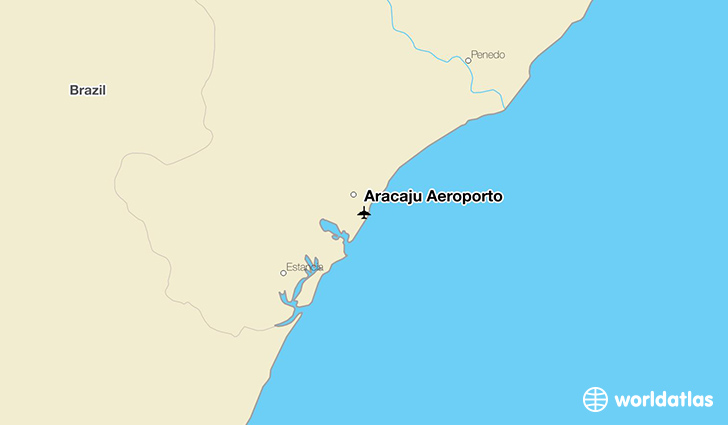Aracaju Aeroporto location on a map