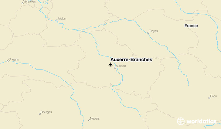 Auxerre-Branches location on a map