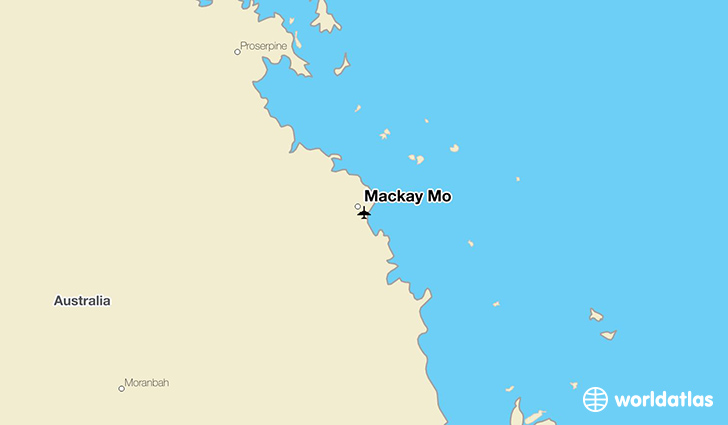 Mackay Mo location on a map