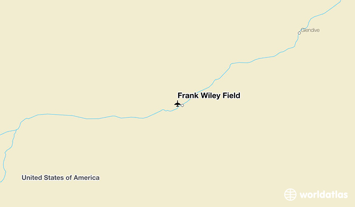 Frank Wiley Field location on a map