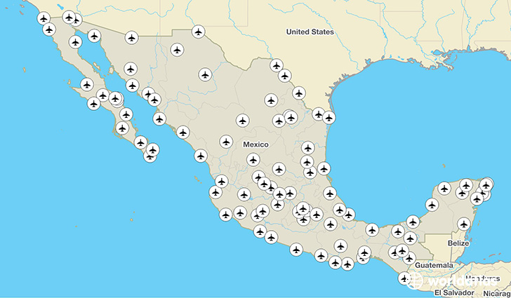 Mexico airports