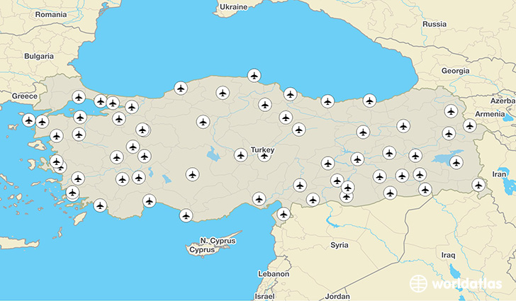 Turkey airports