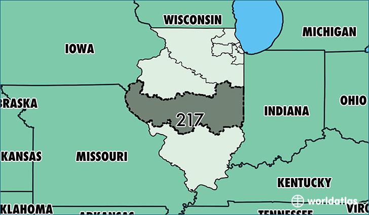 Ford City Champaign Il >> Where Is Area Code 217 / Map Of Area Code 217 / Springfield, IL Area Code