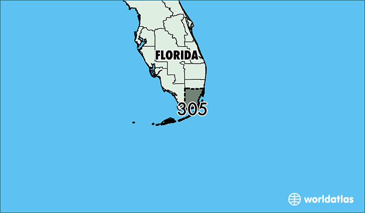 Where Is Area Code Map Of Area Code Miami FL Area Code - Us area code florida