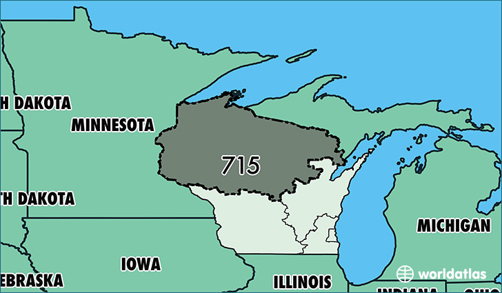 Where Is Area Code Map Of Area Code Eau Claire WI - Area code 315 usa