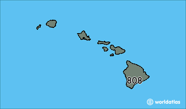 Honolulu Hawaii Zip Code Map.Where Is Area Code 808 Map Of Area Code 808 Honolulu Hi Area Code