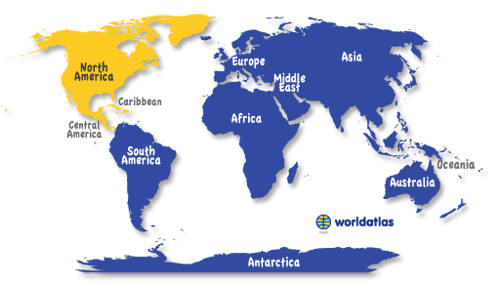 North America Map Map Of North America Facts Geography