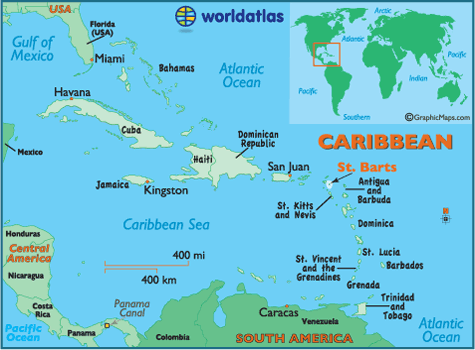 a description of the barbados as a small country located in the caribbean According to the data, it's suriname that is the most sparsely populated country in the caribbean, with only 3 inhabitants per square kilometre.
