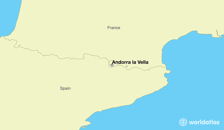 Where is Andorra  Where is Andorra Located in The World