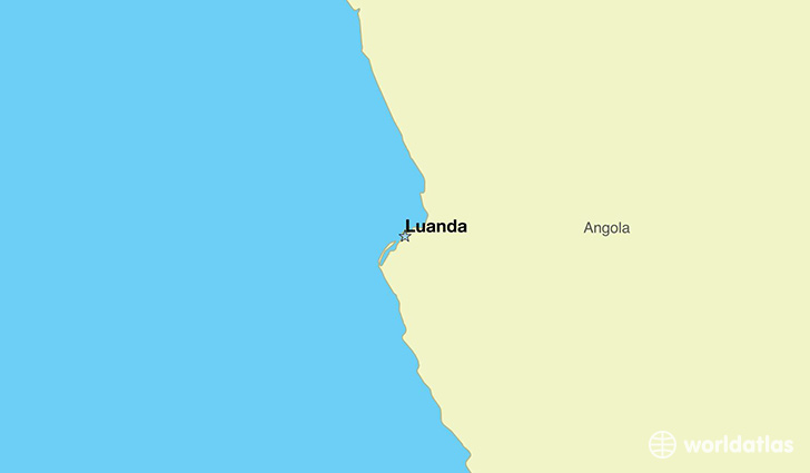 Where Is Angola Where Is Angola Located In The World Angola - Angola map