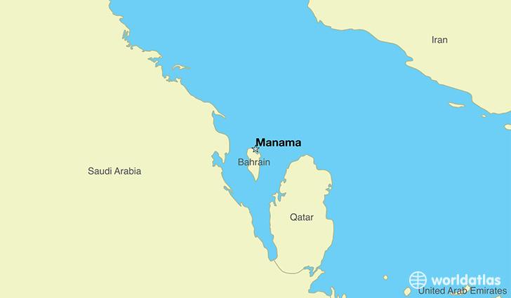 Where Is Bahrain Where Is Bahrain Located In The World - Bahrain map
