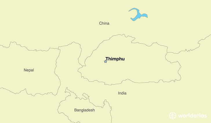 Where Is Bhutan Where Is Bhutan Located In The World Bhutan - Bhutan map