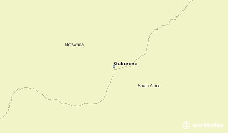 Where is Botswana Where is Botswana Located in The World