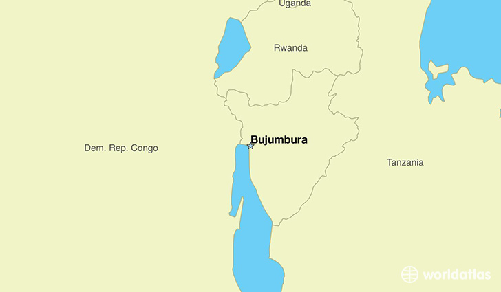 Where Is Burundi Where Is Burundi Located In The World - bujumbura map