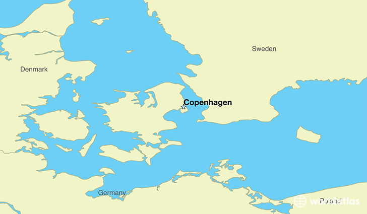 Where Is Denmark Where Is Denmark Located In The World - Denmark map