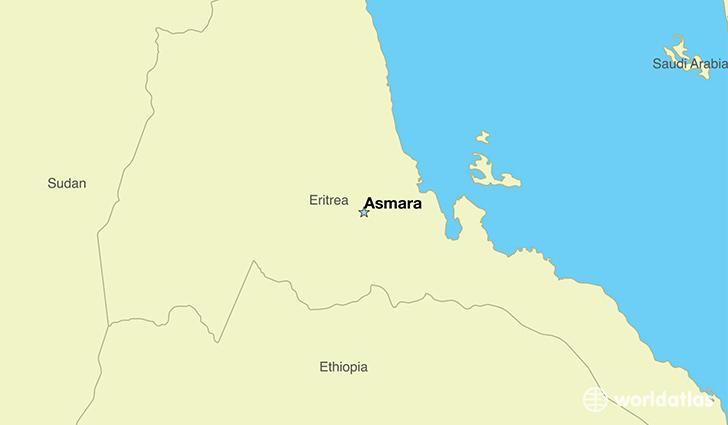 Where Is Eritrea Where Is Eritrea Located In The World - Eritrea map