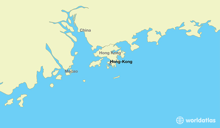 Where is Hong Kong Where is Hong Kong Located in The World