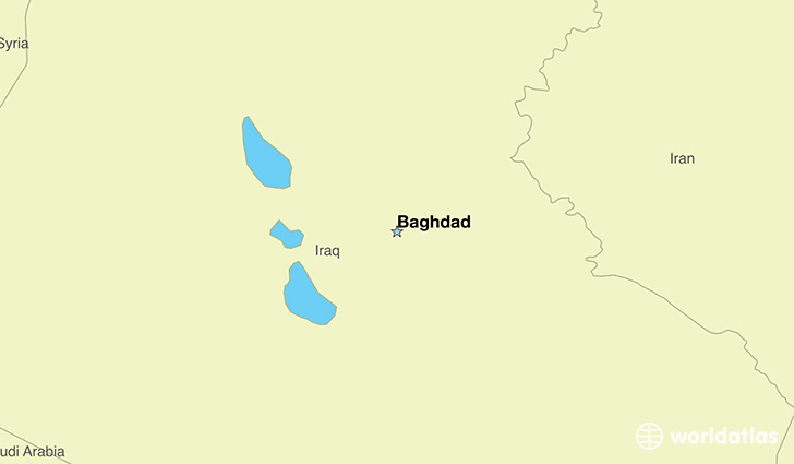 Where is Iraq Where is Iraq Located in The World Iraq Map