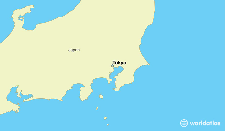 Where is Japan  Where is Japan Located in The World  Japan Map
