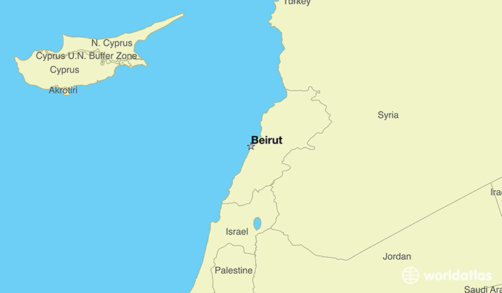 Where Is Lebanon Where Is Lebanon Located In The World - Lebanon map