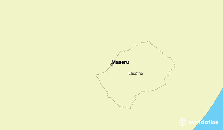 Where Is Lesotho Where Is Lesotho Located In The World - Lesotho maps with countries