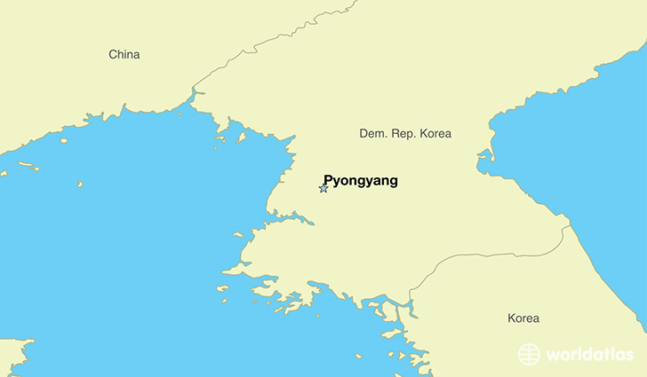 Where is north korea where is north korea located in the world map showing the location of north korea gumiabroncs