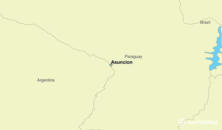 Where is Paraguay Where is Paraguay Located in The World