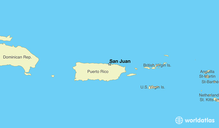 Where Is Puerto Rico Where Is Puerto Rico Located In The World - Map us laatitude san juan