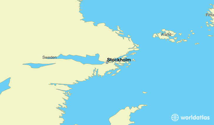 Where is sweden where is sweden located in the world sweden map showing the location of sweden gumiabroncs Images
