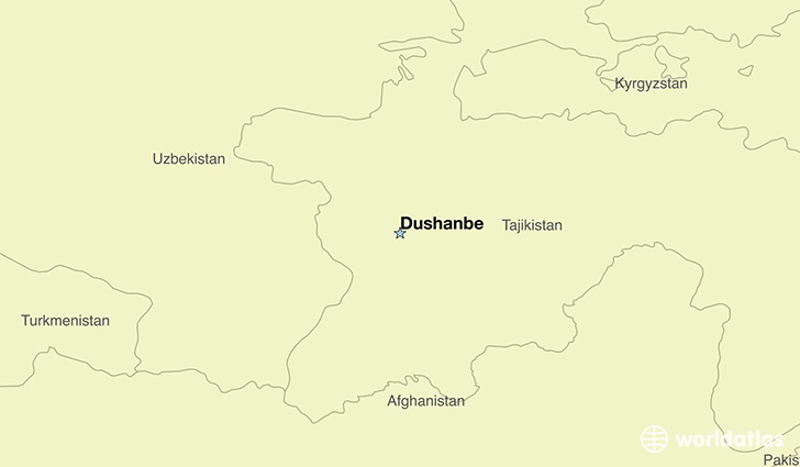 Where is Tajikistan Where is Tajikistan Located in The World
