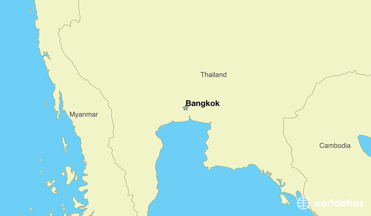 Where Is Thailand Where Is Thailand Located In The World - Where is bangkok