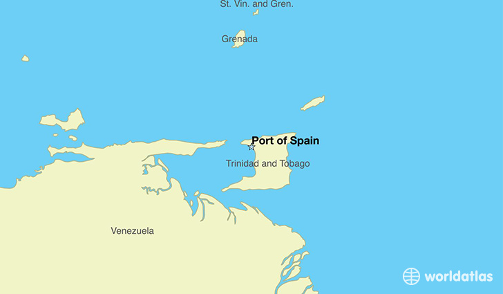 Where Is Spain On The Map Of The World.Where Is Trinidad And Tobago Where Is Trinidad And Tobago Located