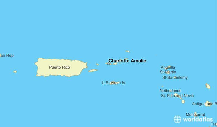 Where Is US Virgin Islands Where Is US Virgin Islands - Charlotte us map