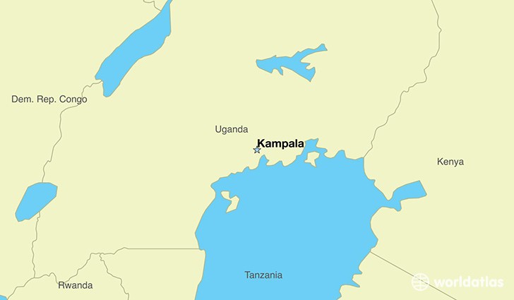 Where is uganda where is uganda located in the world uganda map showing the location of uganda gumiabroncs Image collections