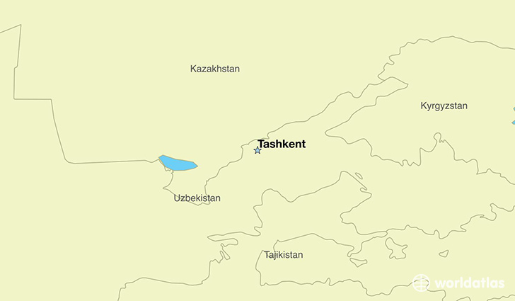 Where is Uzbekistan Where is Uzbekistan Located in The World