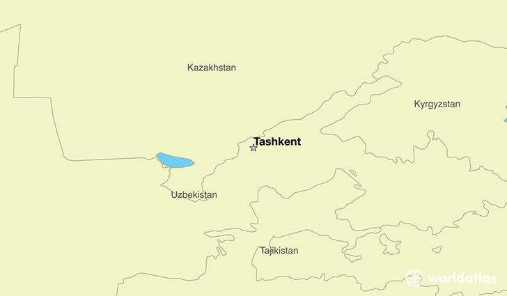 Where Is Uzbekistan Where Is Uzbekistan Located In The World - Uzbekistan map