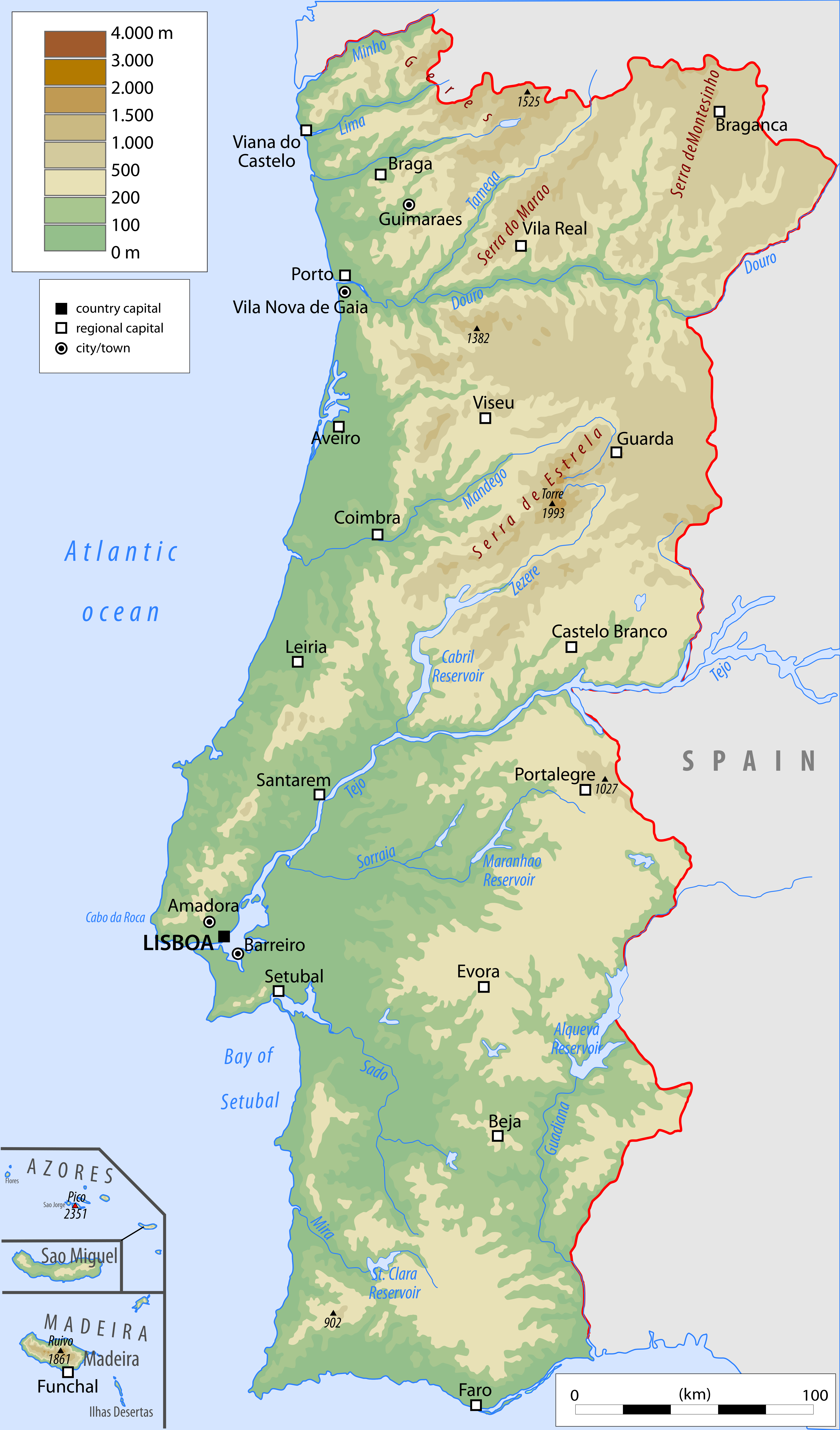 Picture of: Portugal Geography