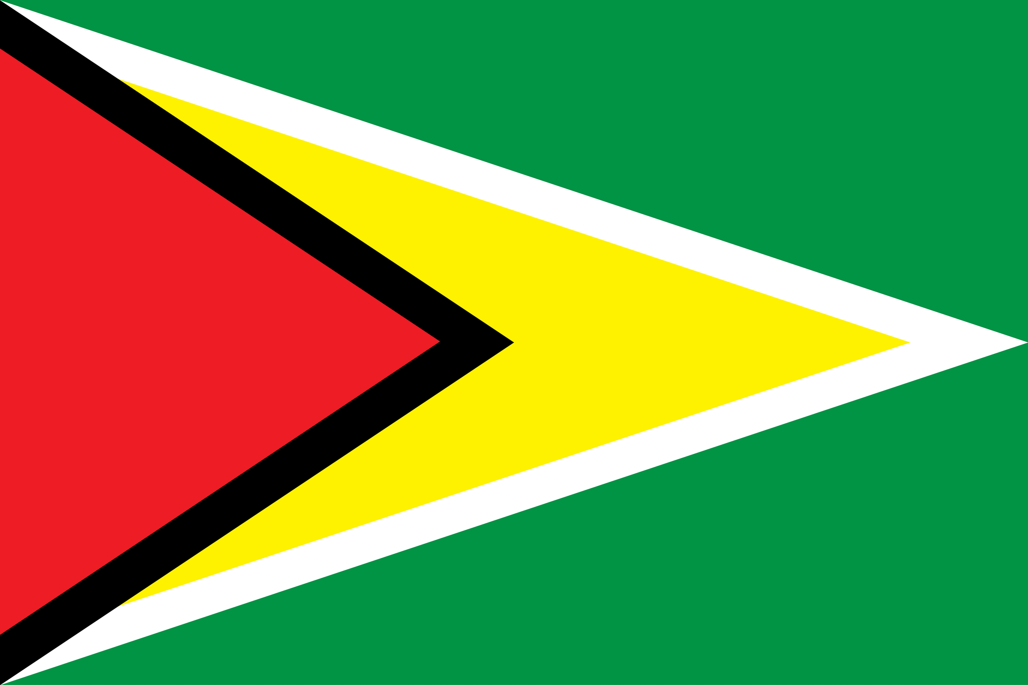 The official flag of Guyana.
