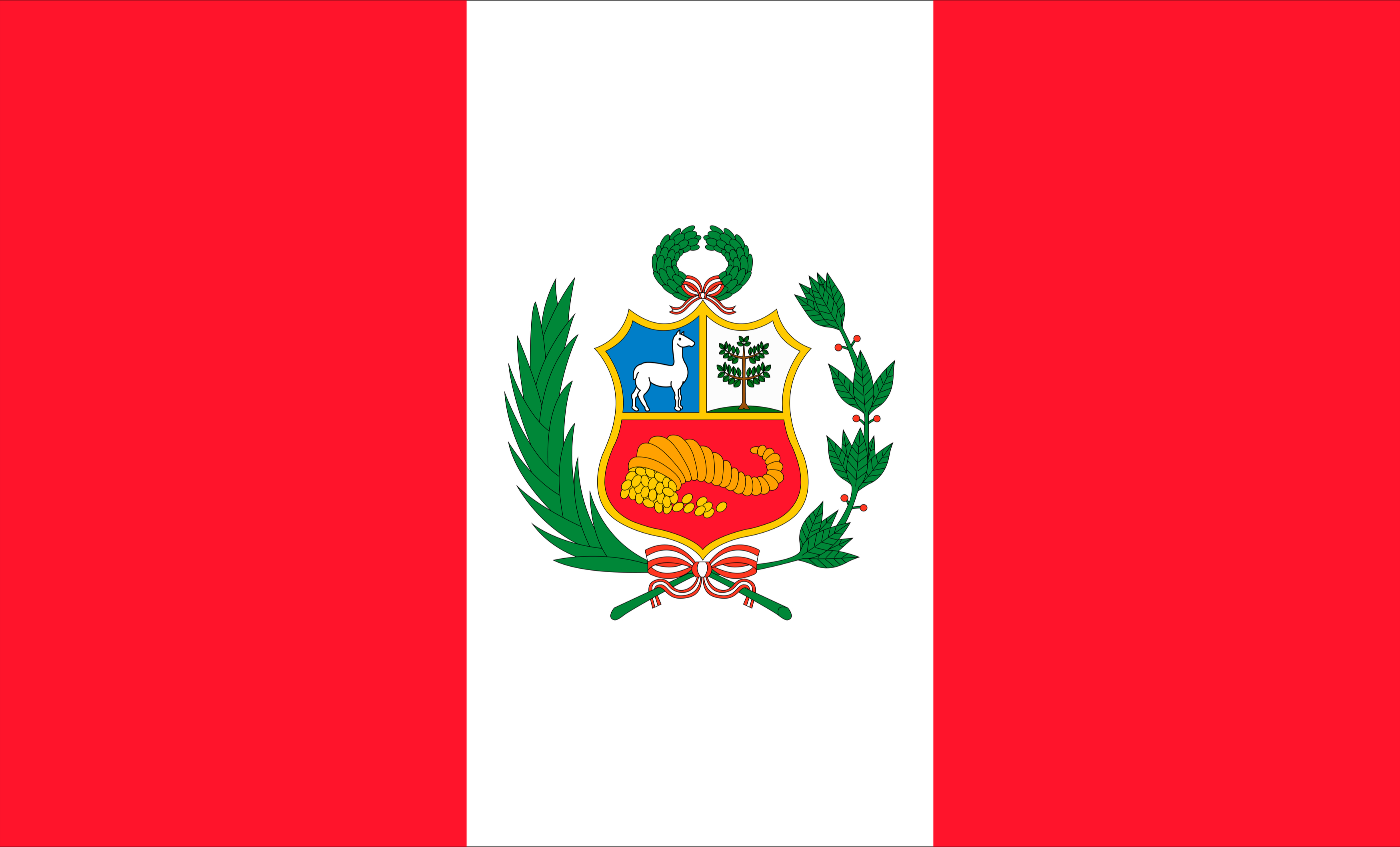 What Do the Colors and Symbols of the Flag of Peru Mean ...